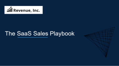 The SaaS Sales Management Playbook